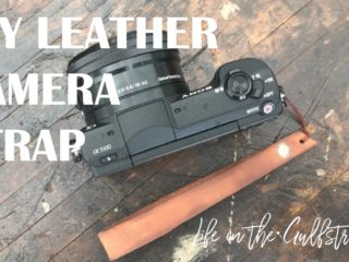 DIY Leather Camera Strap | Life on the Gulfstream