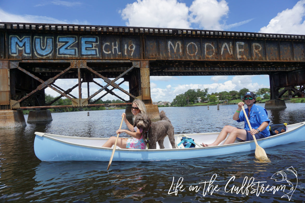 Canoe Restoration Day Trip on Eau Gallie River, FL | Life on the Gulfstream