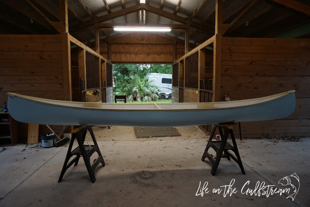 Canoe Restoration DIY | Life on the Gulfstream