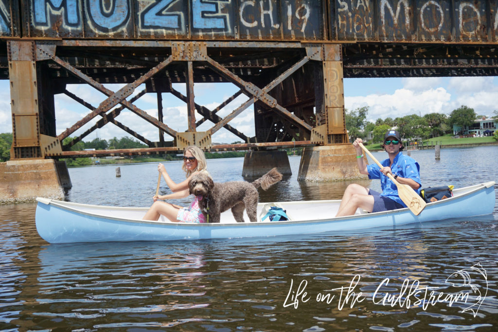 Canoe Date on the Eau Gallie River - Melbourne, FL | Life on the Gulfstream