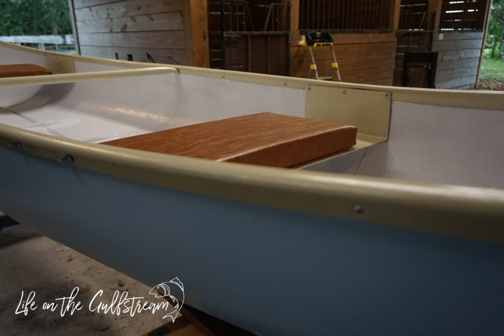 Paint Color Combination for Canoe Restoration | Life on the Gulfstream
