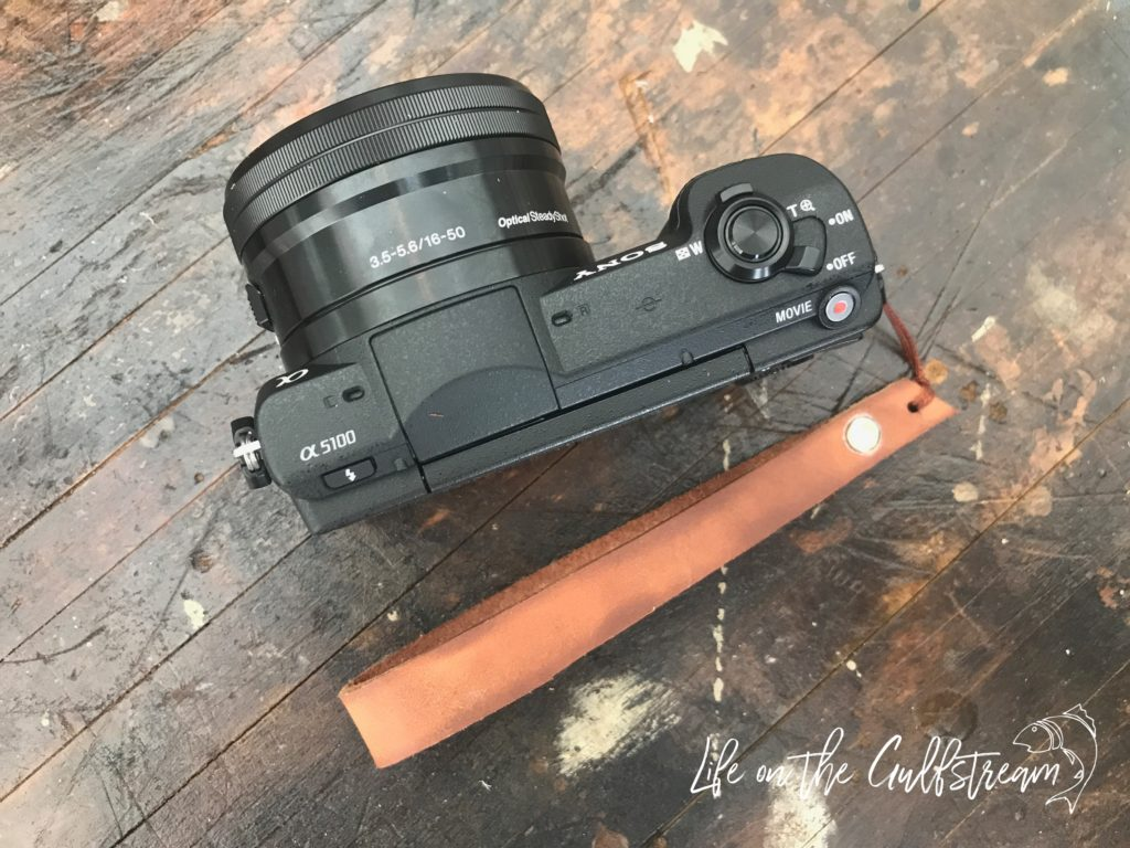 DIY Leather Camera Strap with Video Tutorial | Life on the Gulfstream
