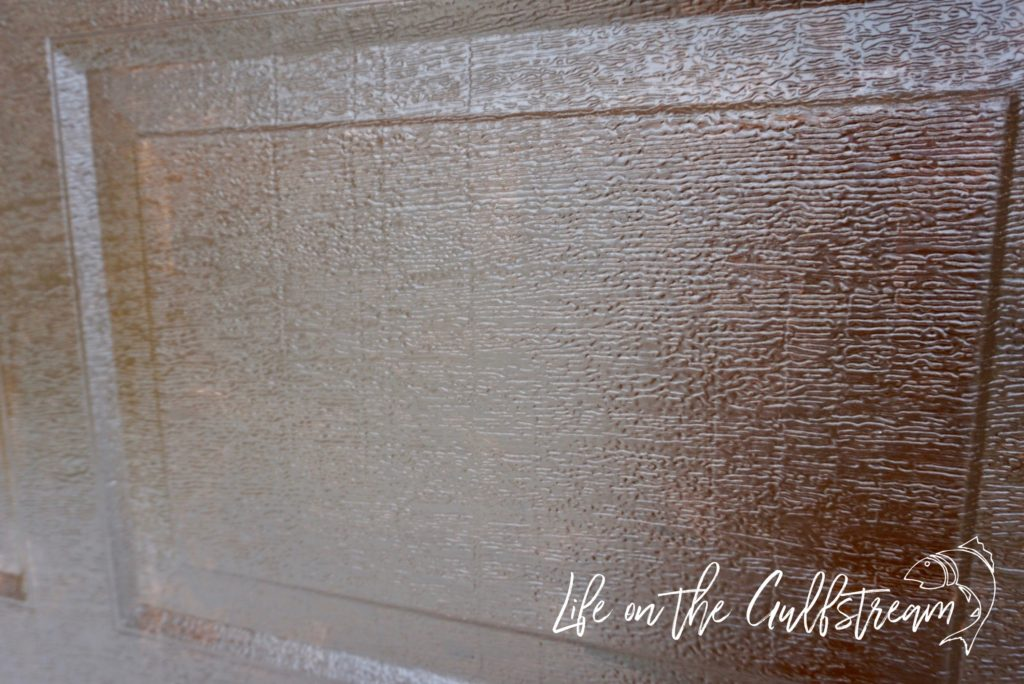 Gel Stain Garage Door | Life on the Gulfstream
