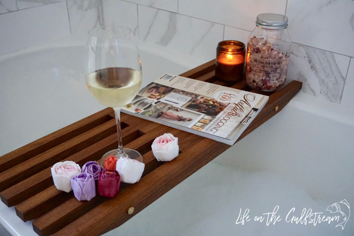 DIY Teak Bath Rack | Life on the Gulfstream