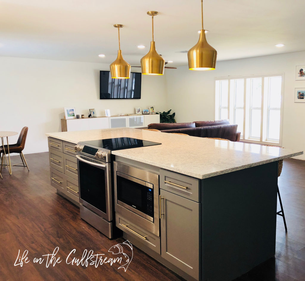 Open Concept Kitchen | Life on the Gulfstream
