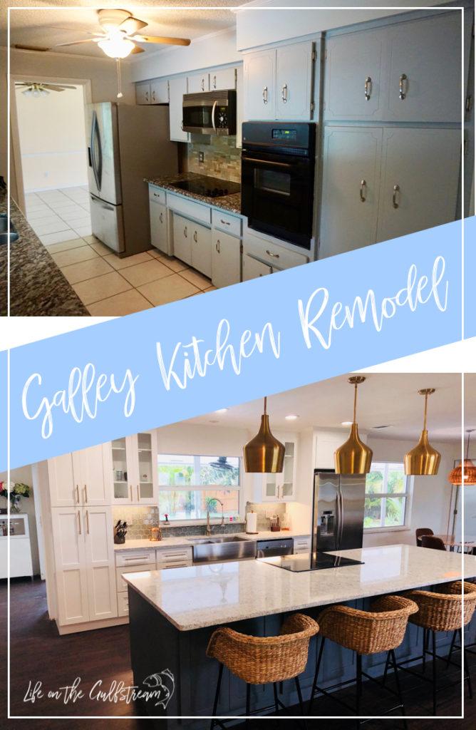 Galley Kitchen DIY Renovation | Life on the Gulfstream