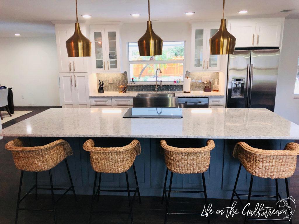 Kitchen Island Bar Stools | Life on the Gulfstream
